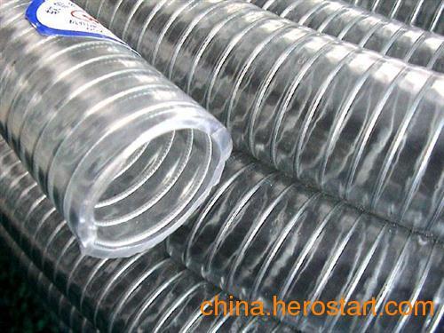 供应钢丝管,河北PVC螺旋钢丝管(图),聚鑫橡塑