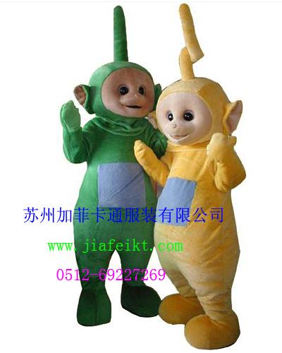 供应张家港卡通服装道具|上海卡通人偶天线宝宝