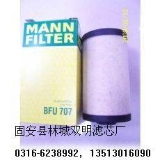 双明供应  德国曼·胡默尔滤芯油滤BFU707