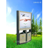 供应LJX-GG-10广告垃圾箱