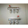 供应地暖安装伟星原厂双球阀分集水器