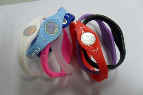 供应新款能量手环 平衡手环 硅胶手环负离子