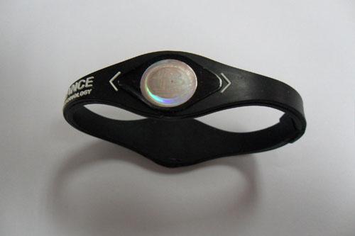 供应新款能量手环 平衡手环 硅胶负离子手环