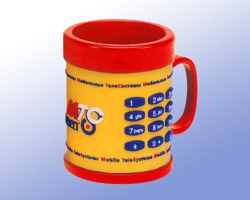 供应马克杯 PVC马克杯 卡通马克杯