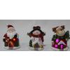 供应圣诞陶瓷摆设,圣诞陶瓷三件套,圣诞老人陶瓷,圣诞雪人陶瓷,圣诞麋鹿陶瓷