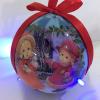 供应圣诞球 圣诞六灯球 圣诞礼品 圣诞赠品 可定制圣诞球