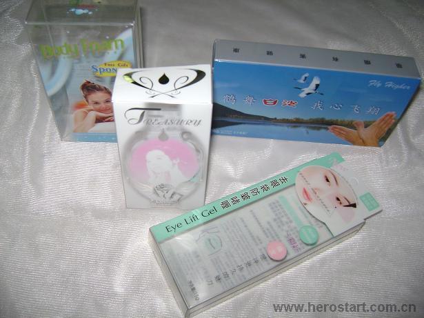 供应PET PVC胶盒圆筒无胶产品