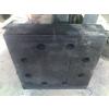 供应带孔型橡胶垫块