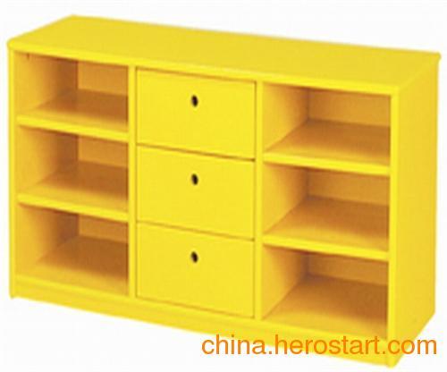 供应幼儿园教具柜,太阳幼教,幼儿园实木教具柜厂家