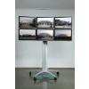 供应六屏移动支架 电视移动架 液晶墙支架 显示器移动架