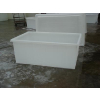 供应绍兴纺织印染厂布车K-840L方形塑料桶