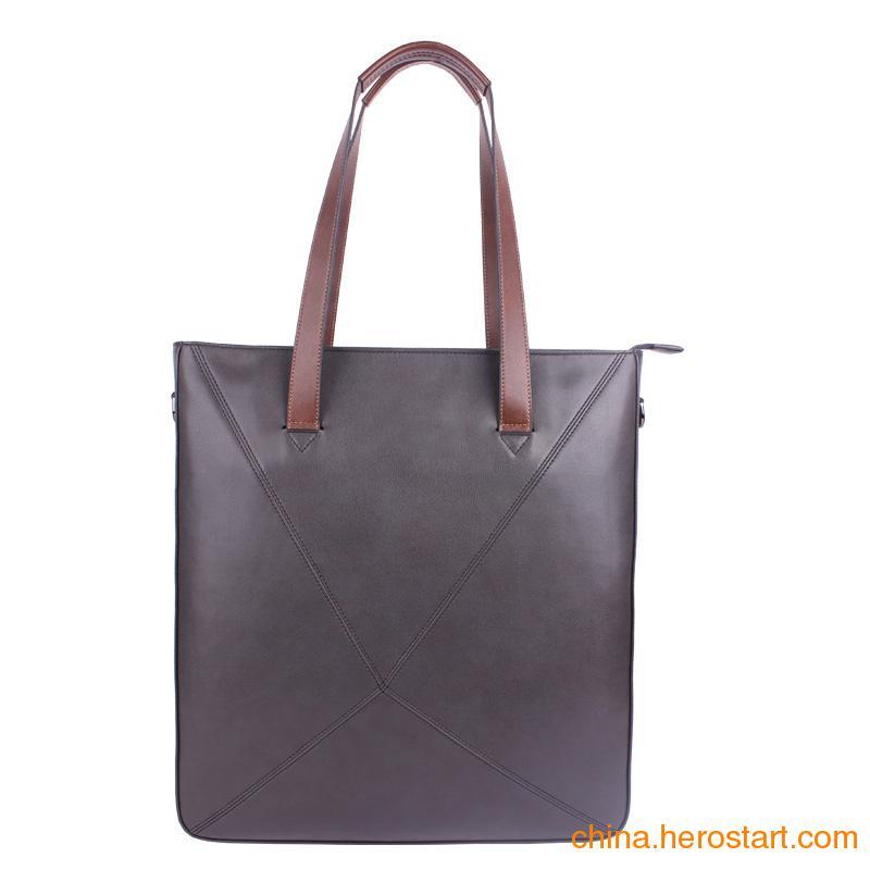 供应男士手提包公文包 休闲斜挎包单肩包 大容量时尚男包