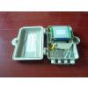 供应1分16芯光纤分纤箱,SMC光纤分路器箱