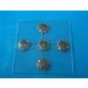 供应带硅胶凸点的金属弹片覆膜按键