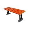 供应休闲钢木公园椅