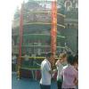 供应国龙牌4.92米高七层户外攀登架儿童蜘蛛塔
