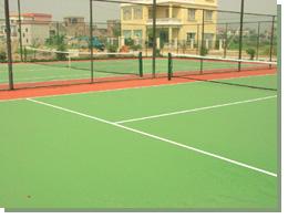 供应网球场,专业丙烯酸网球场及塑胶网球场厂家