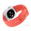 供应2015网上热销苹果手表带订做 硅胶手表带厂家