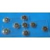 供应专业生产metal dome snap按键带银网