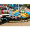 供应现货奇乐迪动物小火车儿童游乐场轨道设备轨道车大型游艺机游乐设施