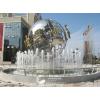 供应广东大型不锈钢广场雕塑,喷泉雕塑