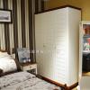 供应欧式卧室实木儿童衣柜衣橱简易衣柜实木推拉门整体衣柜储物柜定做