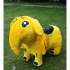 供应河南厂家国龙儿童游乐母子型遥控毛绒动物电瓶车