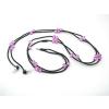 供应带唛入耳式手机耳机,串珠耳机,项链耳机