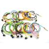 供应绕线耳机,彩色编织线耳机,防皱螺纹耳机,竹木耳机