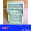 供应彩色喷色三层带锁不锈钢药箱/医用药箱/急救箱/医药箱