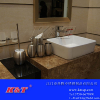 供应酒店家用橄榄形简洁不锈钢卫浴套装/浴室套装