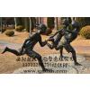 供应学生跑步雕塑,玻璃钢树脂雕塑制作厂家,人物雕塑