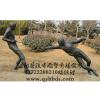 供应击剑运动雕塑,铸铜仿铜雕塑制作厂家,校园雕塑