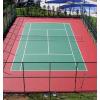 供应网球场施工北京哪家公司好,室外硅PU网球场建造