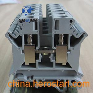 供应希捷牌UK6N接线端子,WUK6N电压端子,JUK6N二次接线端子,UKJ6N导轨式接线端子