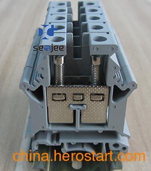 供应希捷牌UK16N接线端子排,WUK16N电压端子,JUK16N螺钉式接线端子,UKJ16N框式螺钉压接端子