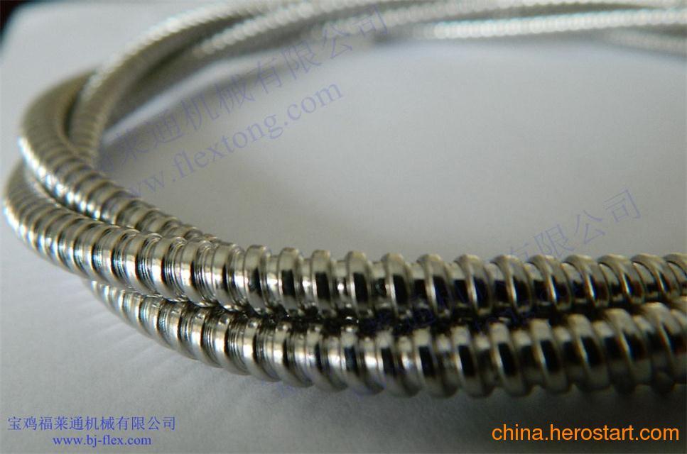 供应卫生级304不锈钢穿线软管哪里有卖?福莱通专业生产不锈钢穿线软管 优质耐用 质量一流