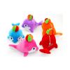 供应毛绒玩具海豚小号公仔 海洋生物定做加工 可爱儿童早教玩具
