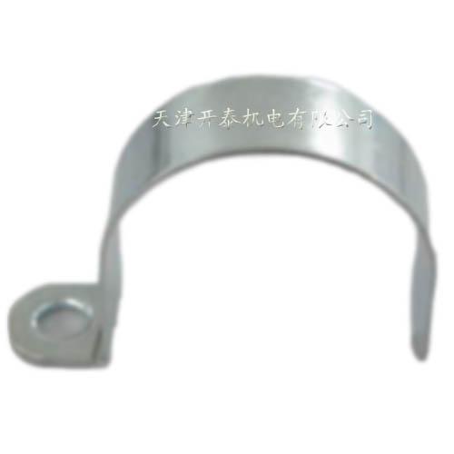供应单面金属卡子 管卡线卡