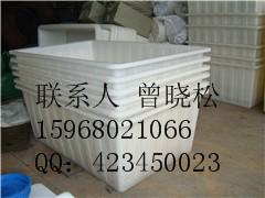 供应浙江容器塑料方型桶/水产养殖桶/纺织印染