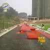 供应学校预制型塑胶跑道 体育场橡胶卷材跑道 公园 塑胶跑道卷材