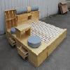 合肥榻榻米|合肥榻榻米床头柜【设计图片】合肥榻榻米床头柜制作
