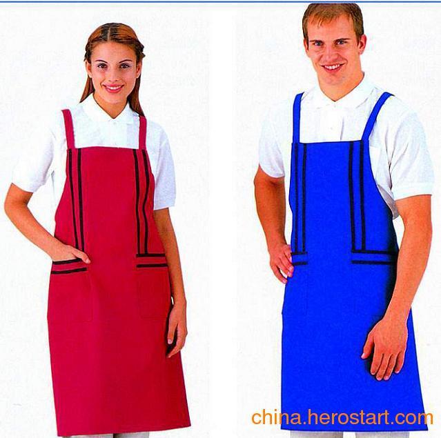 供应促销家用围裙餐饮围裙定做防水围裙罩衣袖套