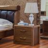 供应现代中式床头柜 实木床头柜 虎斑木床头柜 高档床头柜 优惠直销