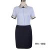 供应广州女性时尚职业装定作 夏季衬衫西裙套装