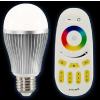 供应厂家批发精品灯具遥控七彩调光LED球泡灯