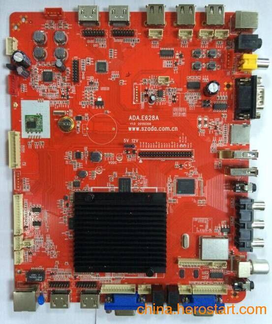 供应安卓电视驱动板|MSTAR628方案|安卓3D液晶电视驱动主板