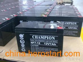 供应山东12v冠军蓄电池电源经销商