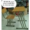 供应合肥学校培训桌椅全新出售板式课桌椅
