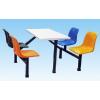 供应珠海中山畅销耐磨精致玻璃钢餐桌椅厂商